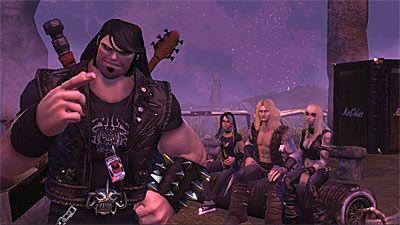 Brutal Legend Conference Call Interview