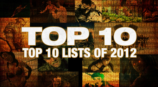 Cheat Code Central's Best Top Ten Lists Of 2012