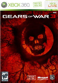 Gears of War 3 Box Art