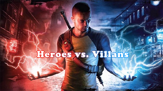 Heroes vs. Villans - How Games Are Played