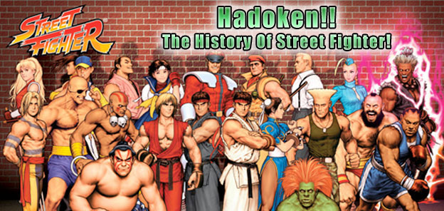 original street fighter characters names