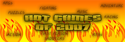Hot Games of 2007 article