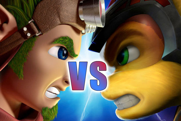 Jak and Daxter vs. Ratchet and Clank