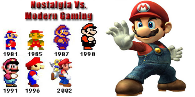 Nostalgia Vs. Modern Gaming