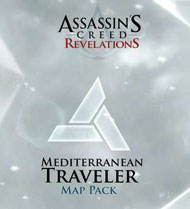 Assassin's Creed: Revelations – Mediterranean Traveler Map Pack