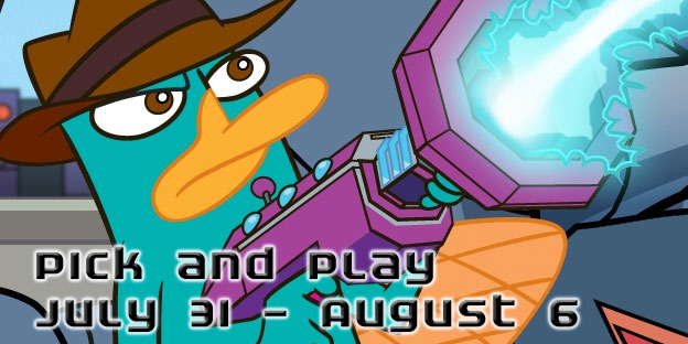 Pick & Play: July 31 - August 6
