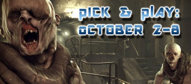 Pick & Play: October 2-8