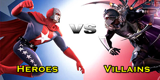 Playing As Heroes vs. Playing As Villains