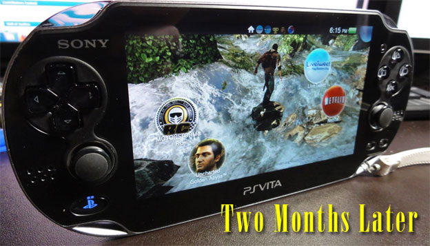 PlayStation Vita, Two Months Later