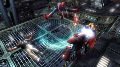Marvel: Ultimate Alliance screenshot � click to enlarge