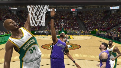NBA 07 screenshot � click to enlarge
