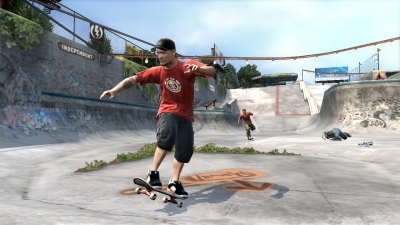 Tony Hawk Project 8 screenshot � click to enlarge