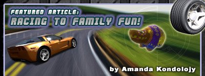 Racing to Family Fun! article