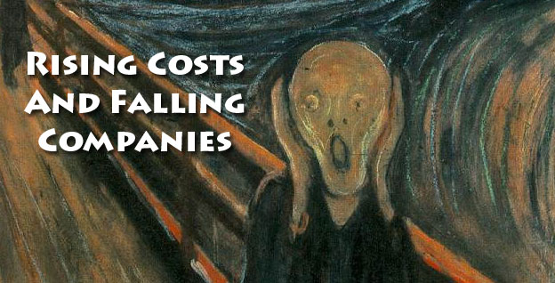 Rising Costs And Falling Companies