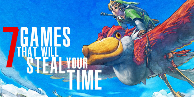 Seven Games That Will Steal My Time Over The Holidays