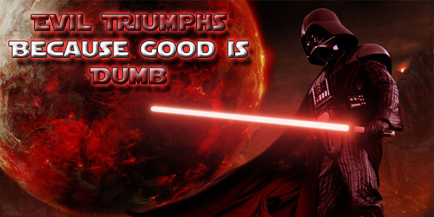 Evil Triumphs Because Good Is Dumb - Star Wars: The Old Republic's Morality System