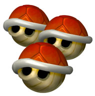 Red Turtle Shell (Mario Kart)