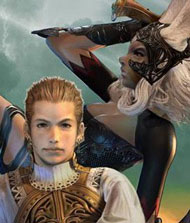 Balthier and Fran – Final Fantasy XII