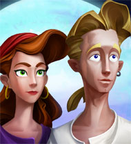 Guybrush and Elaine – The Secret of Monkey Island
