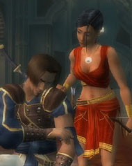 The Prince and Farah – Prince of Persia: The Sands of Time Trilogy