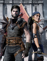 Snarky Hawke and Isabella – Dragon Age II