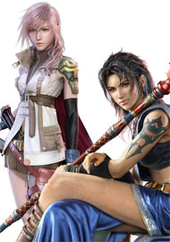 Lightning and Fang – Final Fantasy XIII