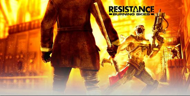 5. Resistance: Burning Skies