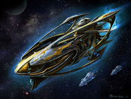 The Protoss Carrier (StarCraft series)