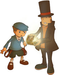 HD Professor Layton or Phoenix Wright