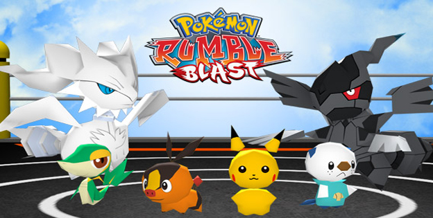 Pokemon Rumble Blast 3DS Game