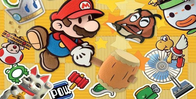 7. Paper Mario: Sticker Star
