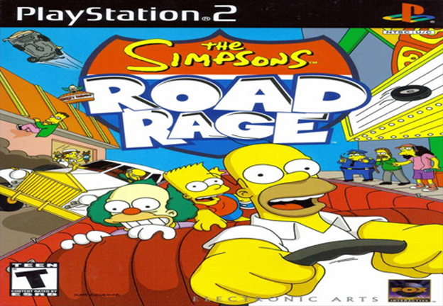 The Simpsons: Road Rage (PS2, GameCube)