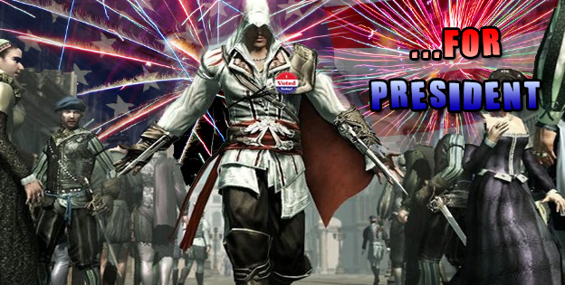 Top 10 Game Characters For President!