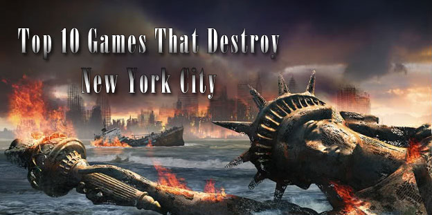 Top 10 Games That Destroy New York City