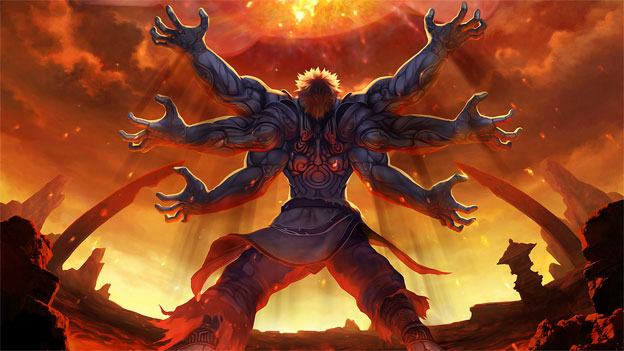10. Asura (Asura's Wrath)