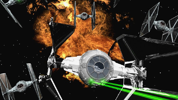 10. The X-Wing & TIE Fighter franchises