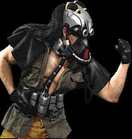 Kabal's Scary Face