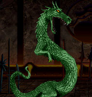 Liu Kang's Dragon Transformation