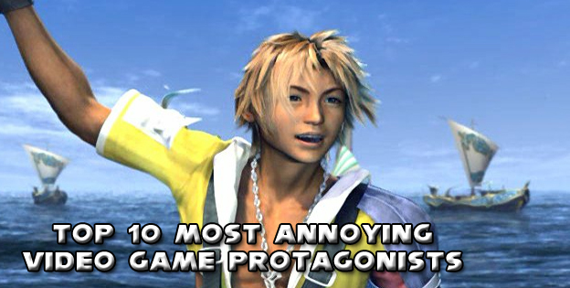 Top 10 Most Annoying Video Game Protagonists