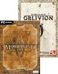 The Elder Scrolls: Morrowind and Oblivion