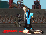 Mortal Kombat Spine Ripping