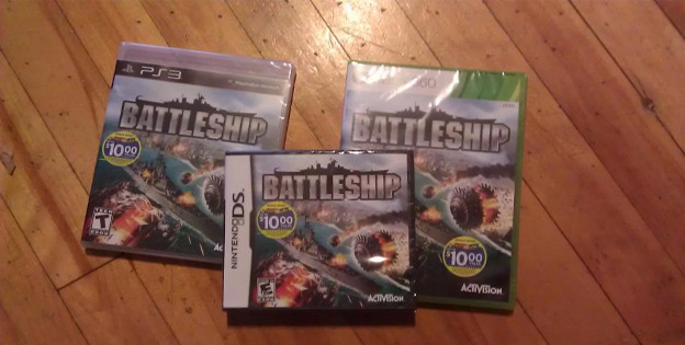 1. Three Copies of Battleship
