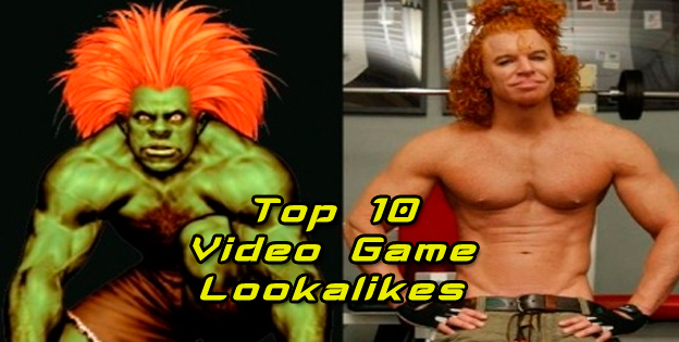 Top 10 Video Game Lookalikes