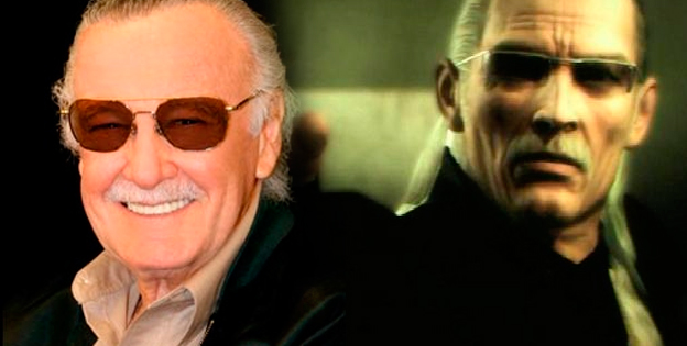Liquid Ocelot and Stan Lee
