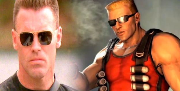 Duke Nukem and Howie Long