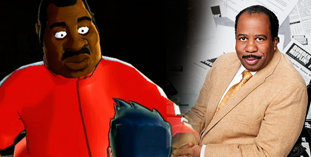 Doc Louis and Stanley Hudson