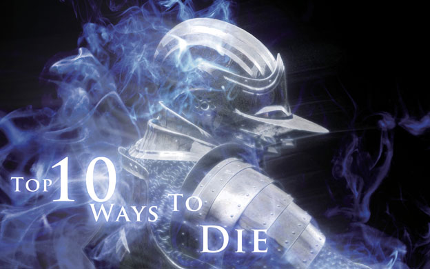 Top 10 Ways To Die In A Video Game