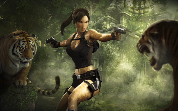 10. Lara Croft (Tomb Raider)