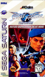 Street Fighter: The Movie (PlayStation, Saturn)