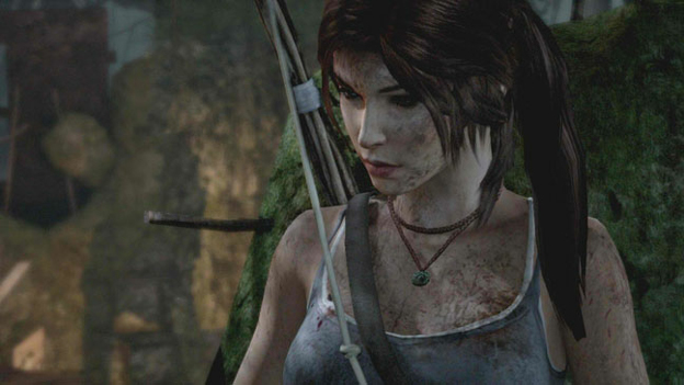 Lara Croft Kicks Butt, Gets Ripped Up